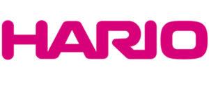 logo de la marque japonaise HARIO et créatrice de l'extraction méthode douce du goutte-à-goutte grace au Dripper V60
