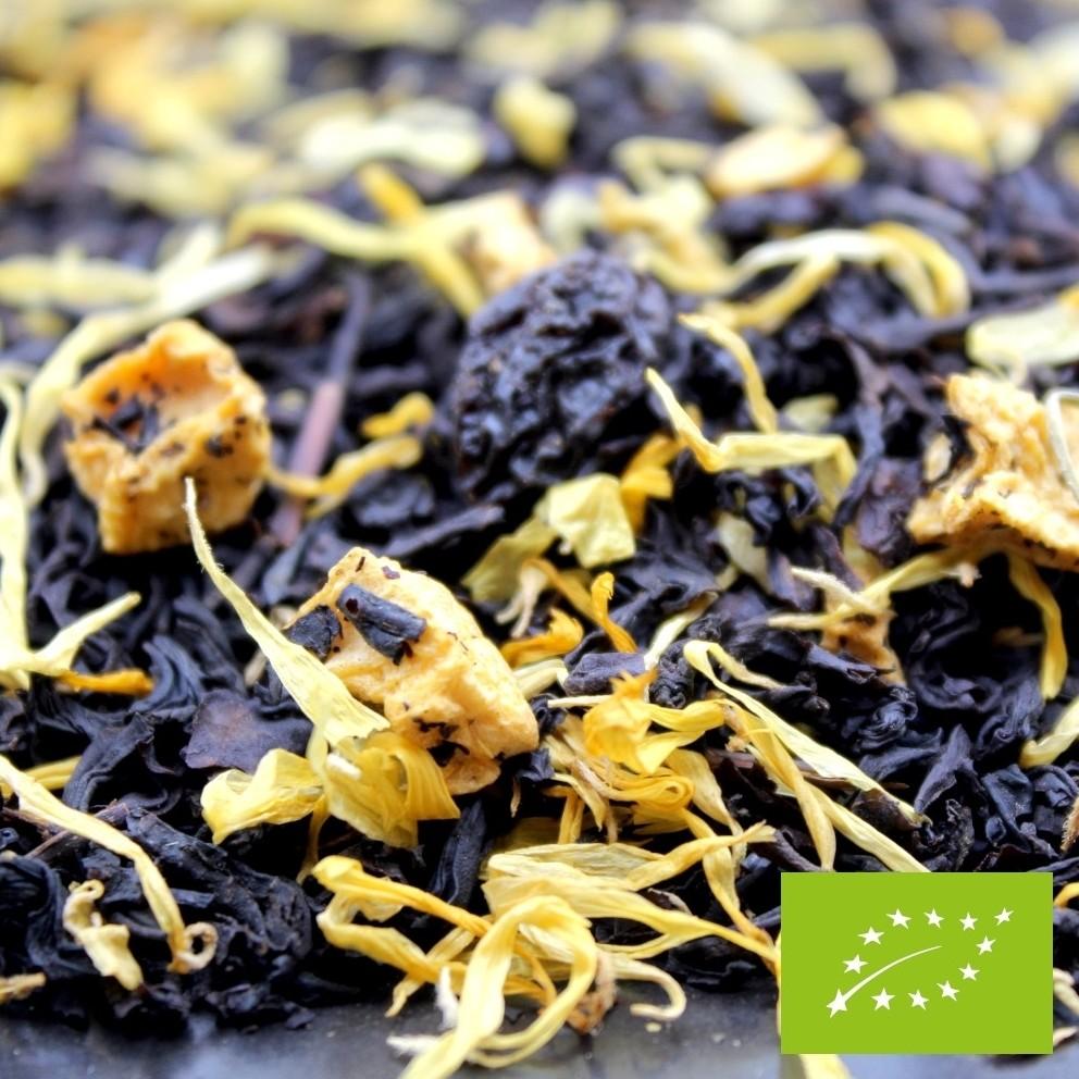 thé à l'abricot BIO FBKT parfumé à l'abricot
