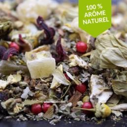 tisane après un bon repas 100% arômes naturels FBKT