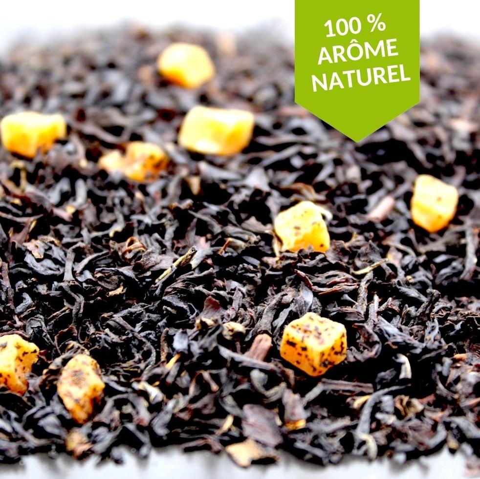 thé noir caramel anglais de la fabrikathé