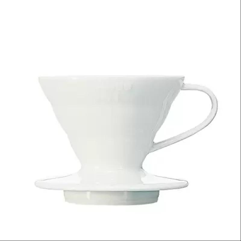 Dripper V60 Hario céramique blanc