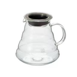 carafe en verre 2 à 6 tasses HARIO pour dripper v60