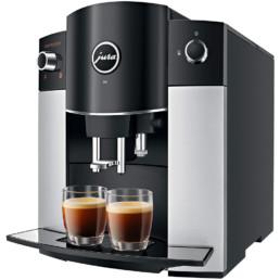 machine à café JURA D6 vue de coté