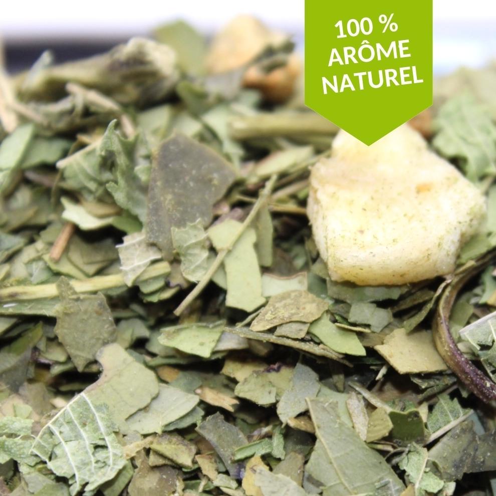 maté pomme banane 100% arôme naturel FBKT