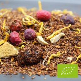 rooibos fruité BIO canneberge orange gingembre