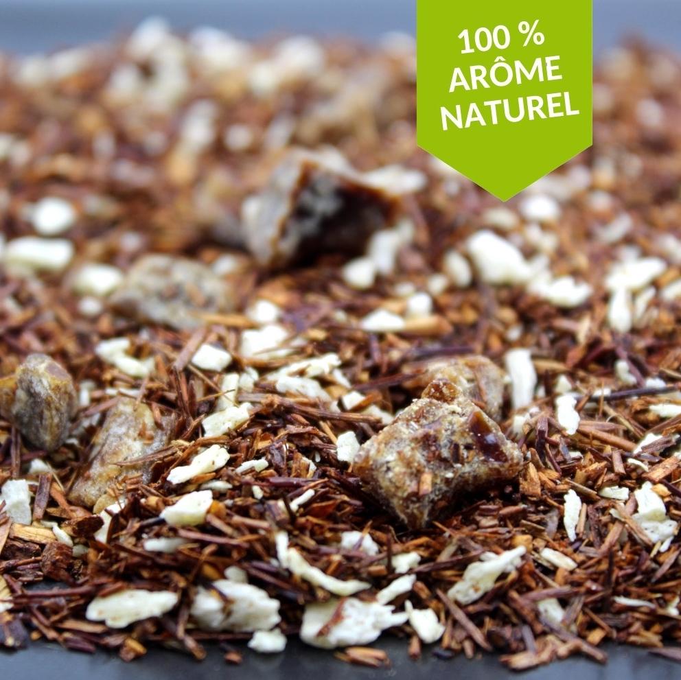 rooibos datte et vanille 100% arome naturel de l'assembleur de thé FBKT