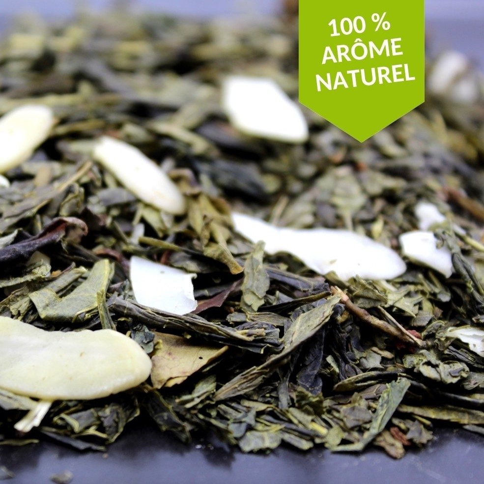 thé vert amande grillée FBKT