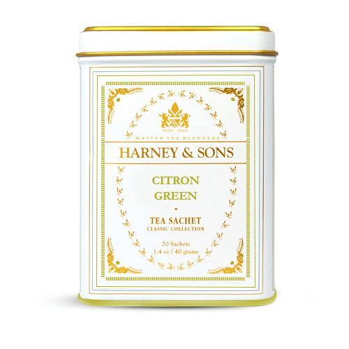 thé vert citron green classic line harney and sons