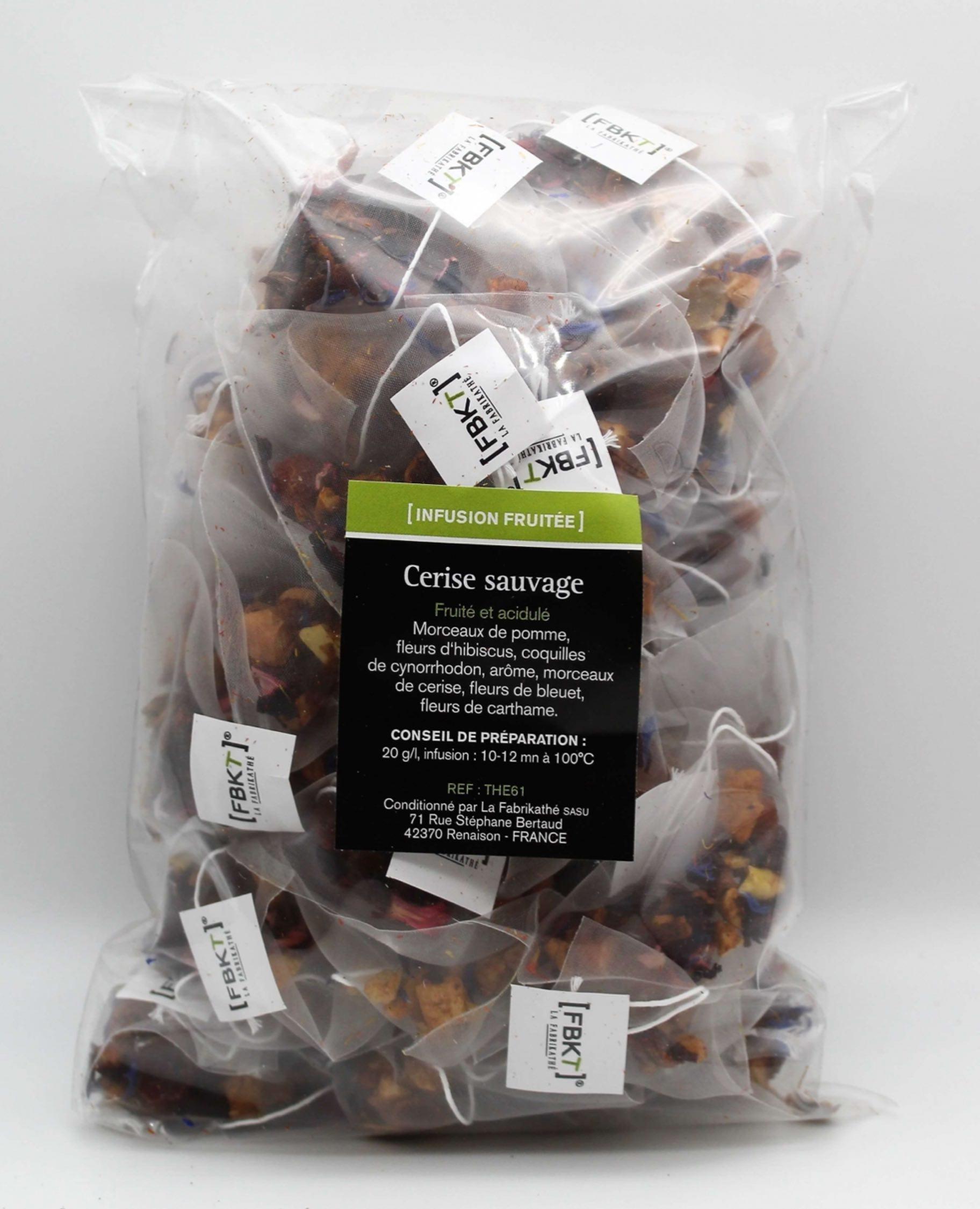 recharge de thés par 50 unités FBKT sans suremballage